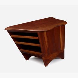 End Table With Sliding Shelves, Paoli, Pennsylvania