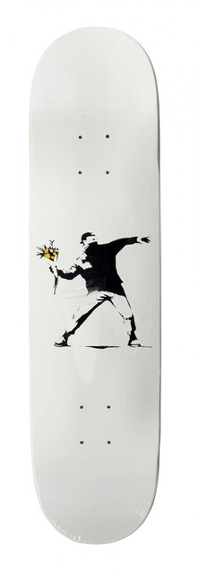 Banksy, 'Flower bomber', Digard Auction