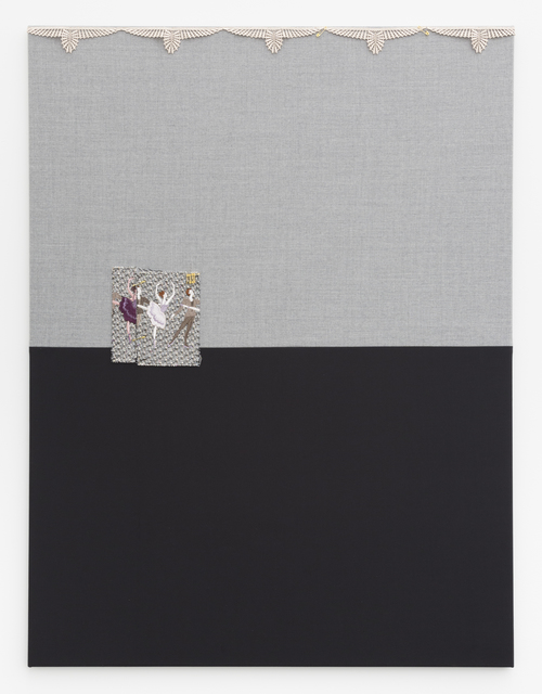 , 'Untitled (NFS29-Ballett Dancers in Purple, Pink and Gold on Gray Black Background),' 2018, VI, VII
