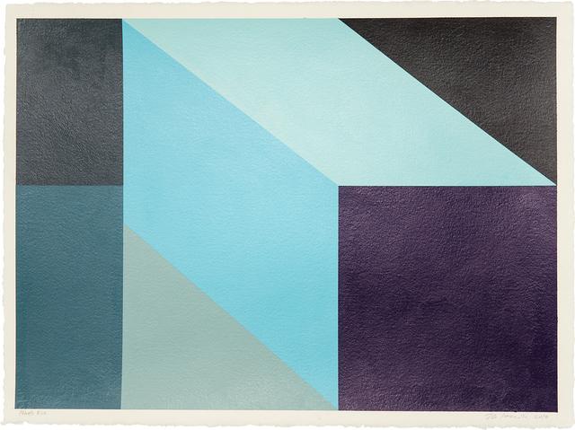 , 'Pthalo Blue,' 2018, Treason Gallery