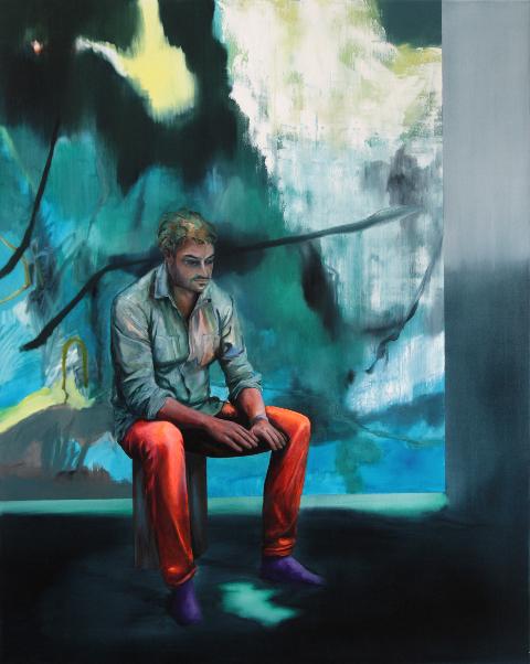 , 'Grand dark feeling of emptiness,' 2016, Suzanne Tarasieve