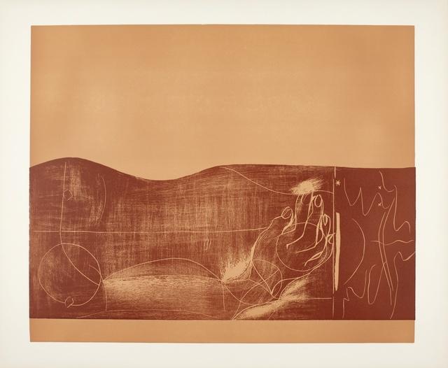 Pablo Picasso, 'Nu (Ba. 1316)', 1962, Print, Linoleum cut printed in shades of brown, Sotheby's