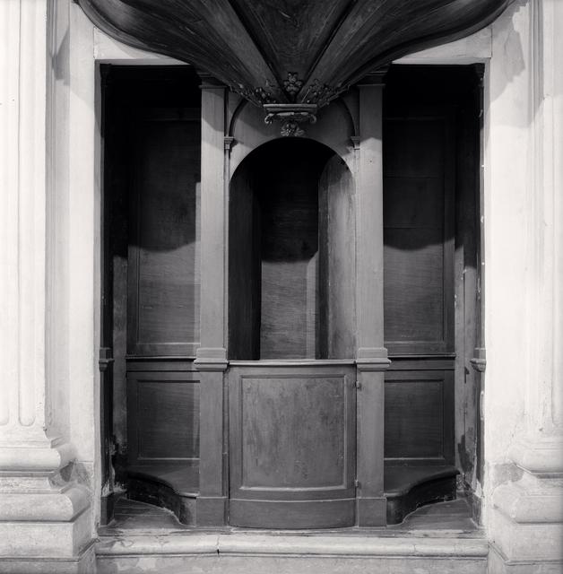 Michael Kenna, 'Confessional, Study 30, Chiesa di San Giorgio, Reggio Emilia, Italy', 2015, Huxley-Parlour