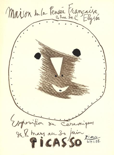 Pablo Picasso, 'Exposition de Ceramiques', 1958, ArtWise