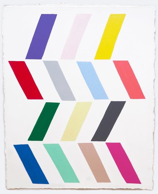 , '14 Parallelograms,' 2015, Galleri Urbane