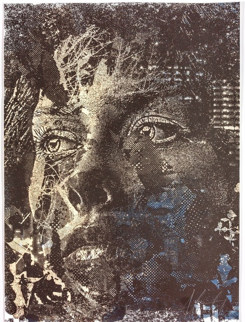 Vhils, 'Contrive Series #01', 2019, Polígrafa Obra Gráfica