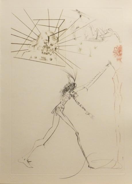 Salvador Dalí, 'Tristan et Iseult The Three Bad Barons', 1970, Fine Art Acquisitions