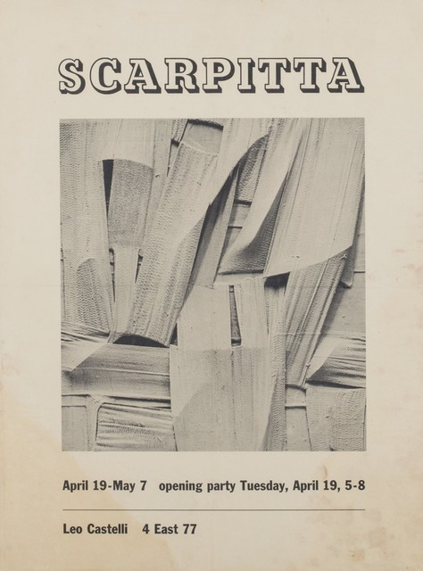 Salvatore Scarpitta, 'Solo exhibition', 1960, Finarte