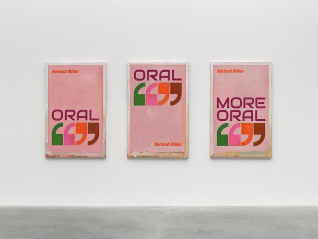 , 'Oral, Oral, More Oral,' 2019, White Cube