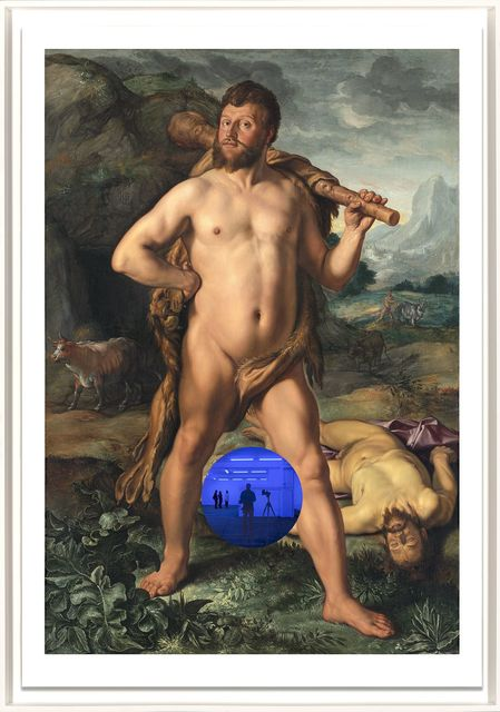, 'Gazing Ball (Goltzius Hercules and Cacus),' 2017, Two Palms