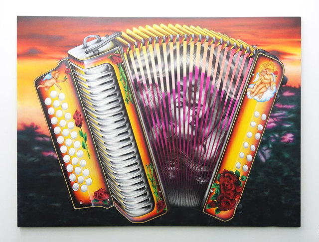 , 'Accordion,' 2017, SADE