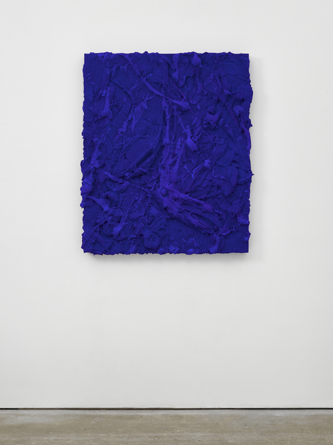 , 'As yet untitled (Oriental blue),' 2017, Lisson Gallery