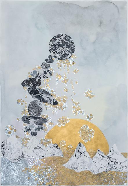 , 'a balancing act  'standing still',' 2017, Galerie du Monde