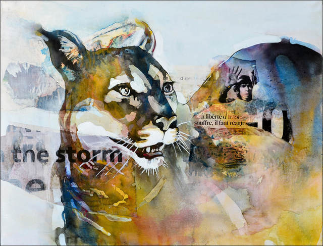 """Bruce Clarke, 'Series """"Predators"""" - In the Storm ', 2019, Out of Africa Gallery"""