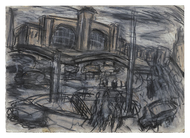, 'King's Cross Stormy Day no. 1,' 2004, Annely Juda Fine Art