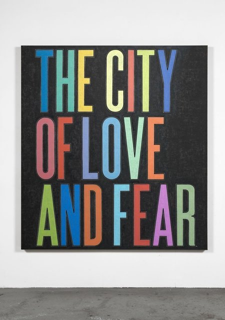 , 'City of Love and Fear,' 2009, Ingleby Gallery