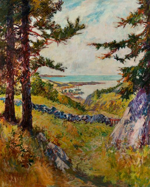 , 'Across the Meadow, Maine,' 1923, Questroyal Fine Art