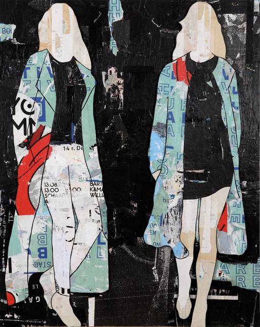 , 'Billboard Coats,' 2016, Caldwell Snyder Gallery