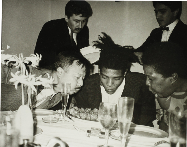 Andy Warhol, 'Jean-Michel Basquiat, Basquiat's Mother and friends (3)', ca. 1984, Phillips