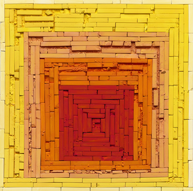 , 'Metachrome (Homage to the Square: Glow, after Joseph Albers),' 2016, Ben Brown Fine Arts