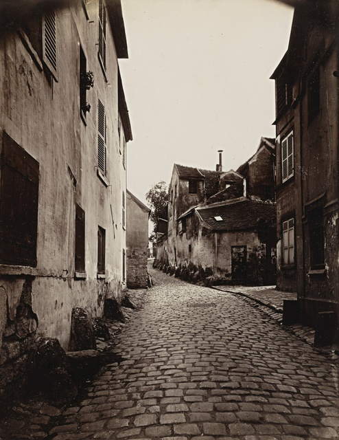 Eugène Atget, ''Vanves (Vieille Rue)'', 1901, Sotheby's