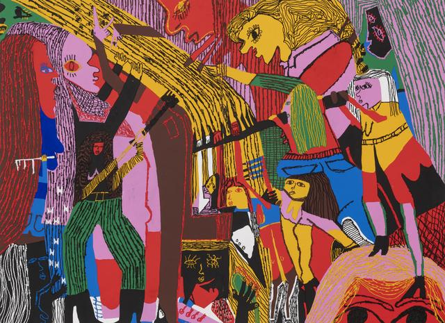 , 'Grooming Ladies,' 2019, Shulamit Nazarian