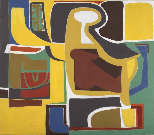 , 'Woman at the Desk,' ca. 1950, Vallarino Fine Art