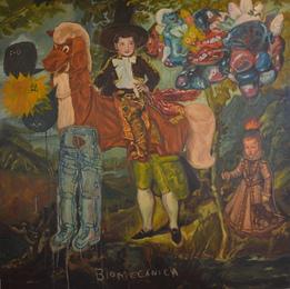 Nacho Chincoya, 'Escenabiomecánica,' 2013, Fine Art Auctions Miami: Major Street Art