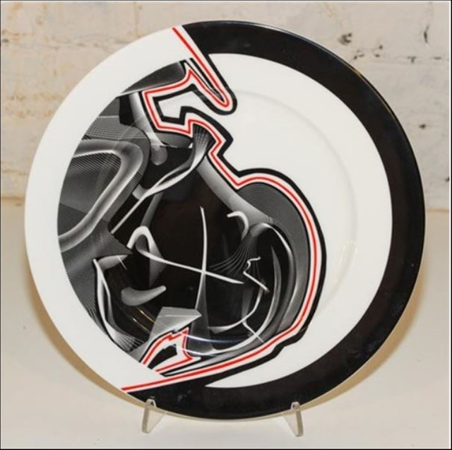 , 'Vortex Engraving #3 Charger Plate,' 2000, Alpha 137 Gallery