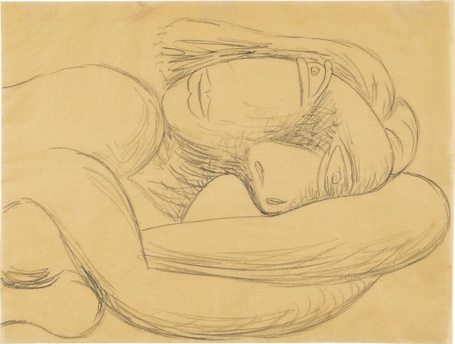 Pablo Picasso, 'Femme en buste/ Buste de femme couchée', 1939, Phillips