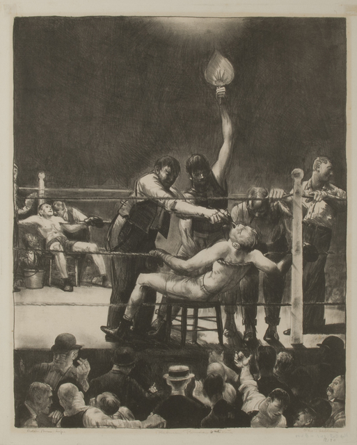 , 'Between Rounds, Small, Second Stone,' 1923, Thomas French Fine Art
