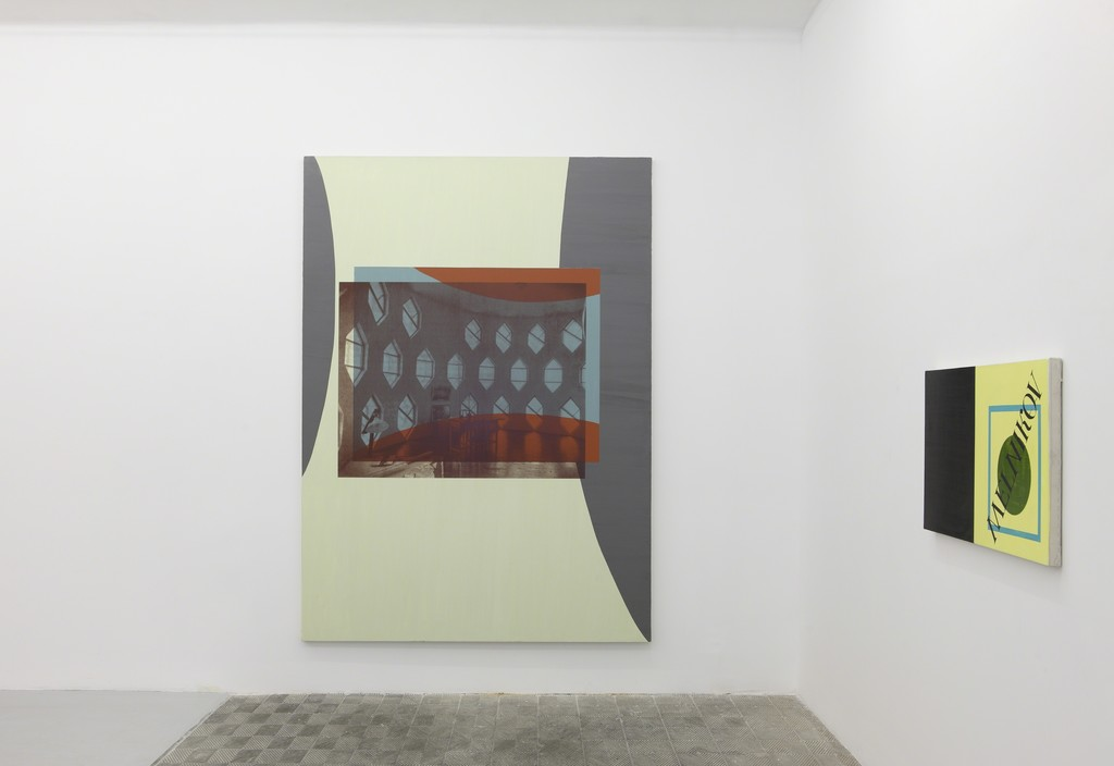 David Diao. Installation view at Galería Marta Cervera, 2014
