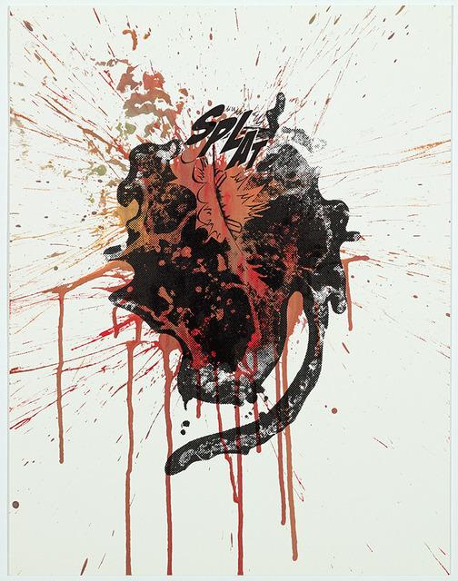 Christian Marclay, 'Splat,' 2013, Graphicstudio USF
