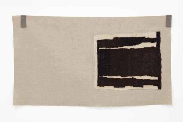 , 'Undyed blacks, undyed ecru ,' 2015, Galerie Nordenhake
