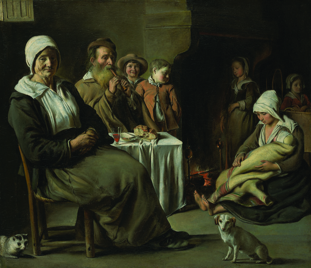 , 'Peasant Interior with Old Flute Player,' ca. 1642, Legion of Honor
