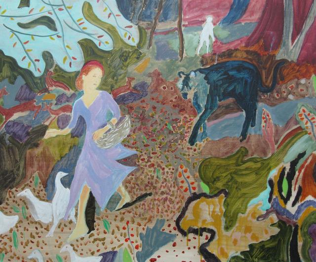 , 'The Ragged Girl's Journey (Goosegirl),' 2018, Arusha Gallery