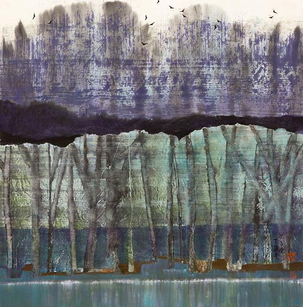 Zi Yao 子尧 Shen 沈, 'Jade Green', 2018, White Space Art Asia