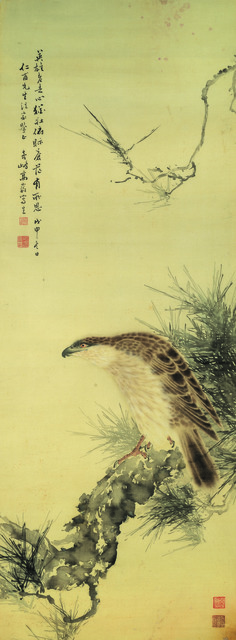 , 'Eagle and Pine Tree,' 1908, Art Museum of the Chinese University of Hong Kong