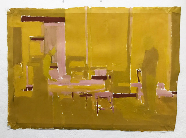 , 'Yellow room #2,' 2016, Galeria Millan