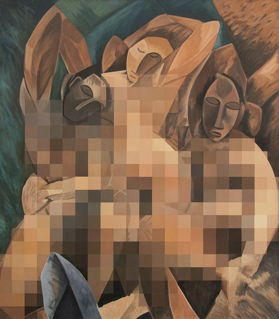 , 'Censored Three Women by Picasso,' 2013, Francis M. Naumann Fine Art