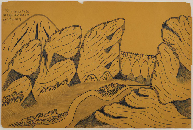 , 'Pine Mountain Near Middlesboro Kentuckey,' 1964, 04, 07 00:00:00 UTC, Cavin Morris Gallery