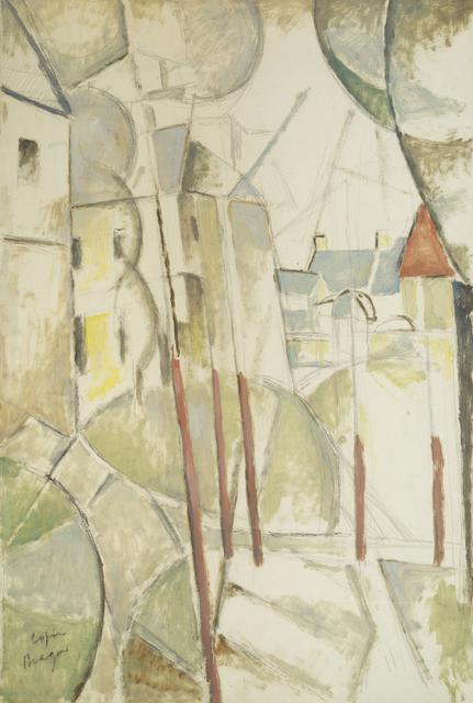 Marie Vorobieff Marevna, 'Landscape, after Georges Braque', Roseberys