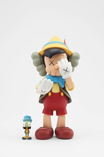 KAWS, 'Pinocchio & Jiminy Cricket', 2010, Sculpture, Painted cast vinyl, Curator Style