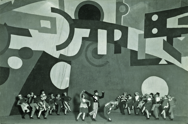 , 'Performance of Skating Rink by Ballets Suédois,' 1922, Museum Ludwig