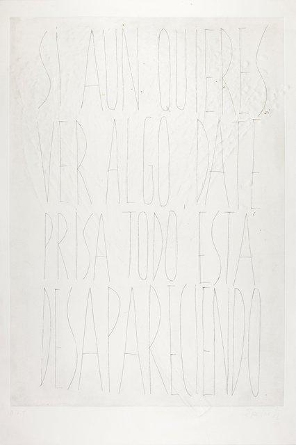Eva Lootz, 'S/T', 1998, Galeria Maior