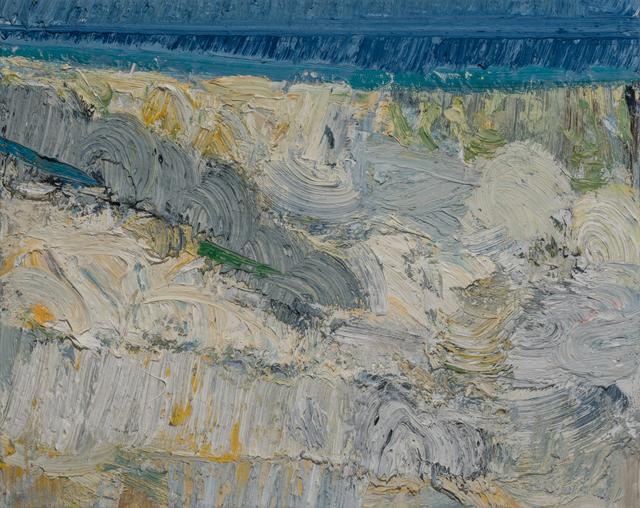 , 'Beach Terrain: Winter,' 2017, Paul Thiebaud Gallery