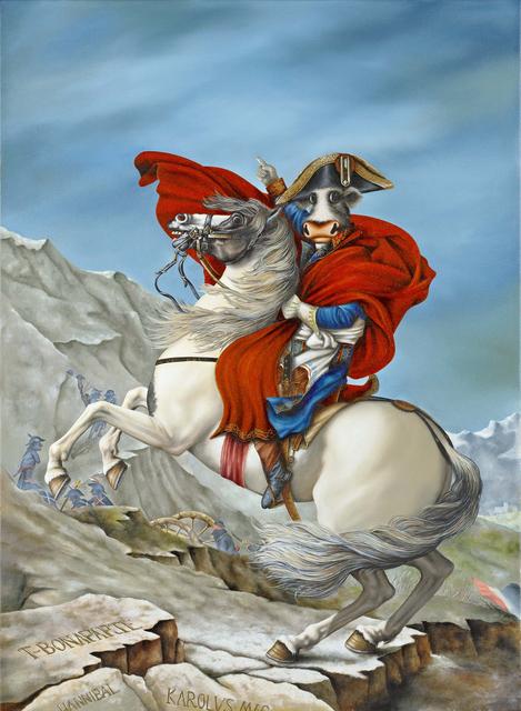 Caroline Shotton, 'Napoleon T-Bonaparte', 2017, Castle Fine Art