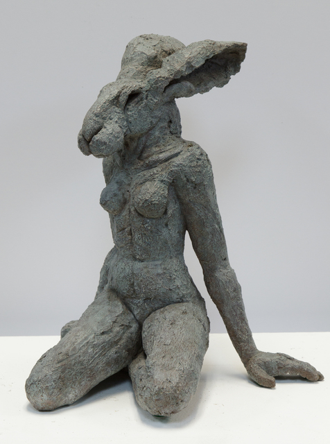 , 'Siting Lady Hare,' 2001, Waterhouse & Dodd