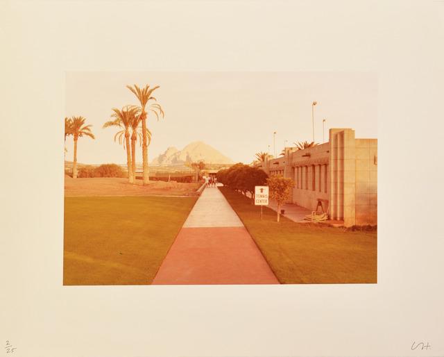David Hockney, 'Untitled (Tennis Centre)', 1976, Shapero Modern