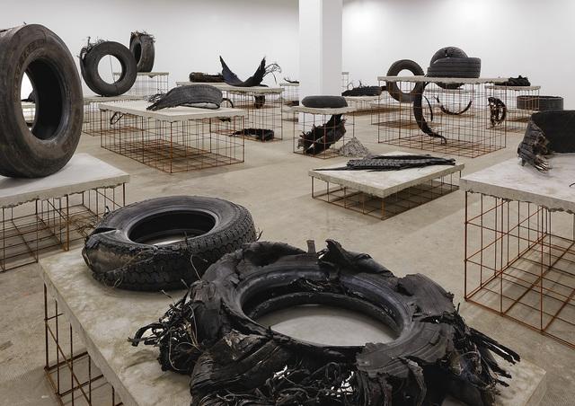 , 'A7 route du soleil,' 2015, Biennale de Lyon